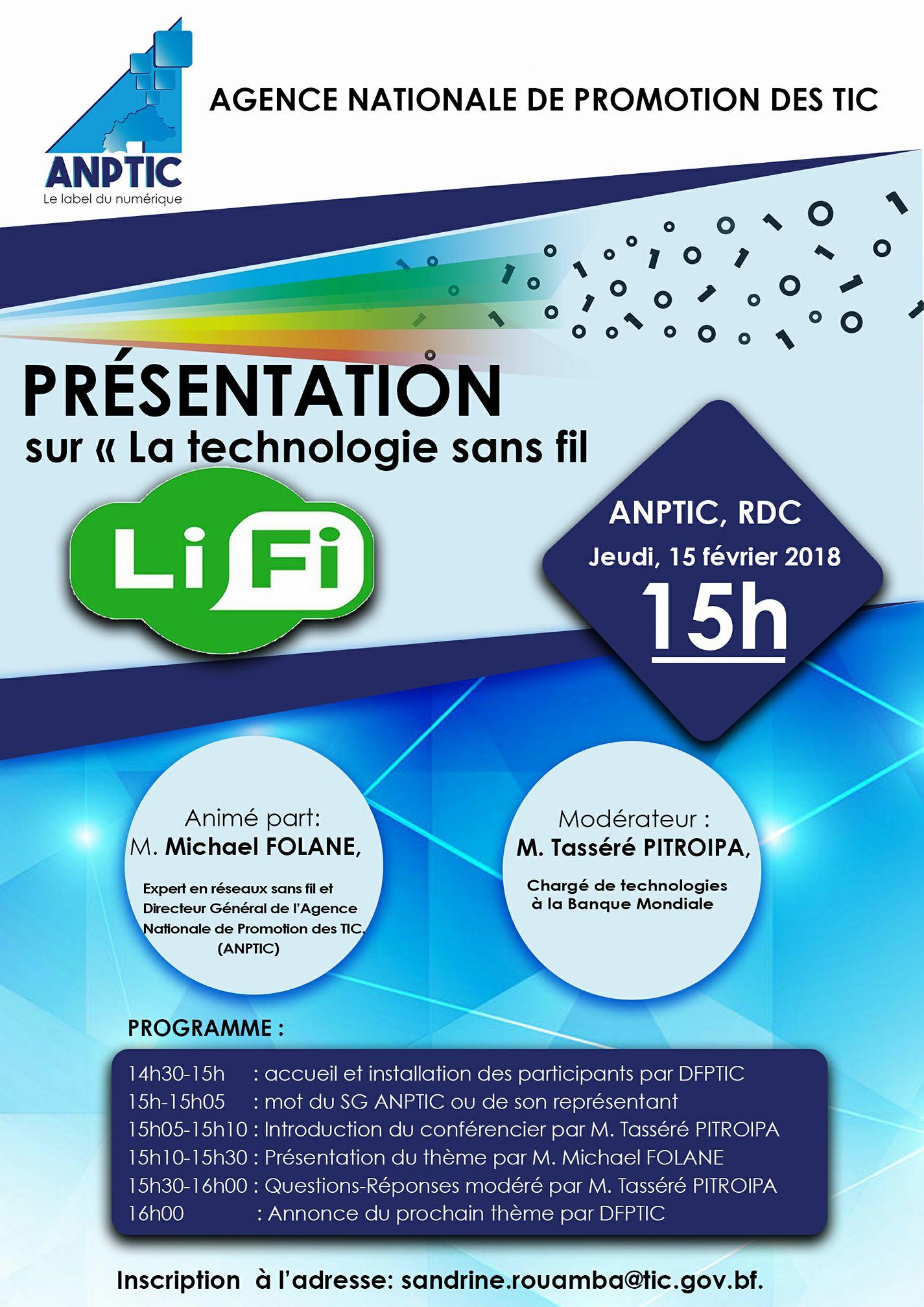 Conférence ANPTIC